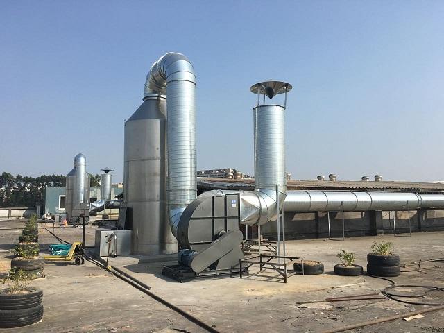 【废气处理工程】福州业通家居制造有限公司